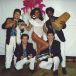 1988 - Ivo Araújo and Dancer Glaucia performing with samba band Casa Grande e Senzala in New York City