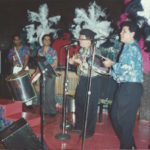 1988 - Ivo Araújo performing with samba band Casa Grande e Senzala at Smugglers Restaurant Queensborough Plaza New York City
