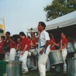 July 1995 - Manhattan Samba performing at the Clearwarter Festival New Jersey