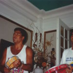 1998 - Jairzinho, the Brazilian World Soccer Champion from 1970, and Ivo Araújo jamming in New York