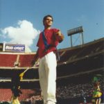 2001 - Manhattan Samba playing at a soccer game in the Giant Stadium Red Bull in New Jersey