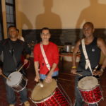 April 12th 2004 - Manhattan Samba rehearsing in East Village's Clemente Soto Center in New York City