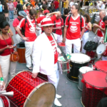 September 2nd 2009 - Manhattan Samba playing at the Brazilian Day New York
